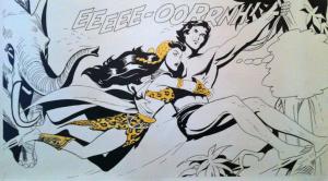 Fresque Tarzan